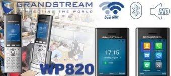 Портативный Wi-Fi-телефон WP820 от Grandstream