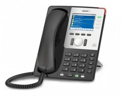 SIP Телефон Snom 821, черный